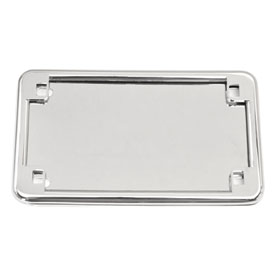 Kuryakyn License Frame & Back Plate Set