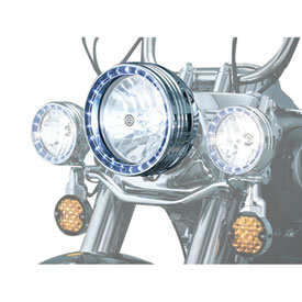 Kuryakyn L.E.D. Halo Headlight Trim Ring
