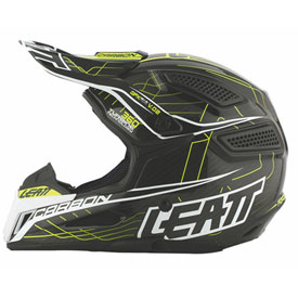 Leatt Youth GPX 6.5 Carbon V.02 Helmet Medium Yellow/Black/Grey