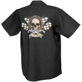 Lethal Threat® Bullet Button Up Work Shirt