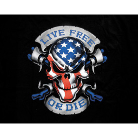 Lethal Threat® Live Free or Die T-Shirt