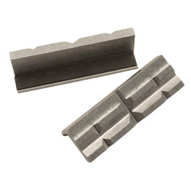 Lisle Aluminum Vise Jaw Pads V Shaped Atv Rocky