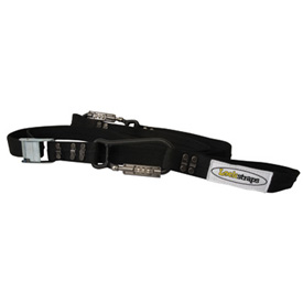 Lockstraps Carabiner Locking Buckle Tie Downs w/Soft Loops