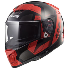 LS2 Breaker Physics Helmet X-Small Matte Red/Black