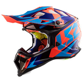 LS2 Subverter MX470 Helmet 2019 XX-Large Nimble Black/Blue/Orange