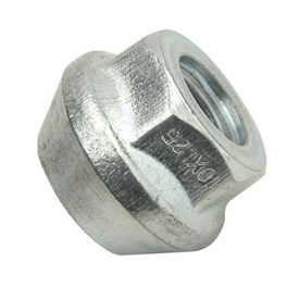 ITP O.E.M. Style Tapered Lug Nut 10mm x 1.25mm Thread Pitch Silver