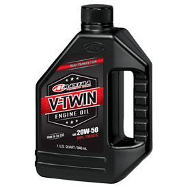 Maxima V-Twin Synthetic Oil 20W-50 32 oz.