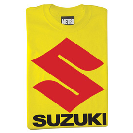 metro racing suzuki t shirt casual rocky mountain atv mc. Black Bedroom Furniture Sets. Home Design Ideas