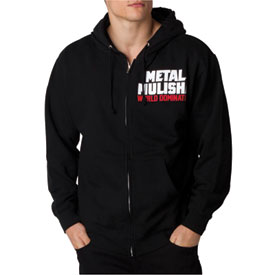 Metal Mulisha Incendiary Zip-Up Hooded Sweatshirt