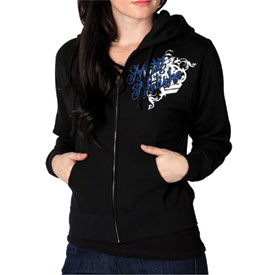 Metal Mulisha Heaven Sent Ladies Zip-Up Hooded Sweatshirt