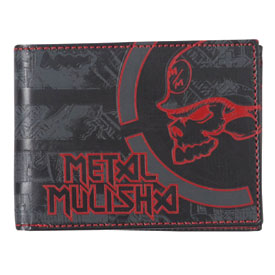 Metal Mulisha Line Up Bi-Fold Wallet