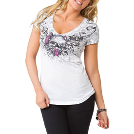 Metal Mulisha Rosalie Ladies V-Neck T-Shirt