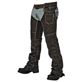MMCC Crazy Horse Motorcycle Chaps