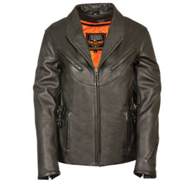 Milwaukee Leather Women's Updated Vented Leather Jacket