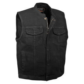 Milwaukee Leather Denim Club Style Motorcycle Vest