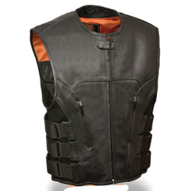 Milwaukee Leather Swat Style Motorcycle Vest