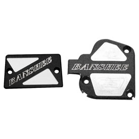 Modquad Thumb Throttle and Front Brake Reservoir Cover Set