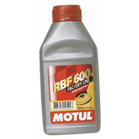 Motul RBF 600 Racing Brake Fluid DOT 4 .5 Liter