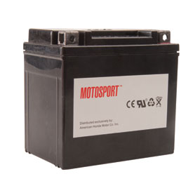 Motosport Maintenance-Free Battery with Acid GT4LBS