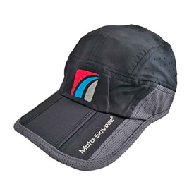 Moto-Skiveez Tri-Fold Adjustable Hat