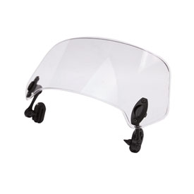 MRA X-Creen Tour Clamp-On Variable Windscreen Spoiler Blade Windshield Extension  Clear