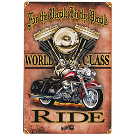 Mustang Heavy Metal Signs