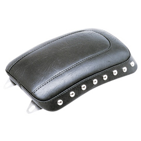 Mustang Solo Seat Studded, Thin Rear Motorcycle Seat