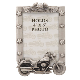 Mustang The Legend Lives Pewter Picture Frame