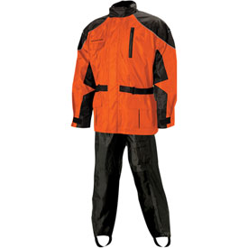 Nelson Rigg Aston 2-Piece Rainsuit Large Orange