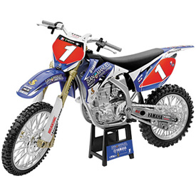 New Ray Die Cast San Manuel Yamaha Motorcycle Model James Stewart
