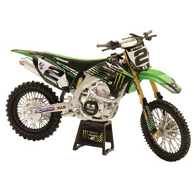 New Ray Die Cast Monster Kawasaki Villopoto Motorcycle Model