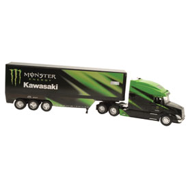 New Ray Die-Cast Monster Kawasaki Racing Rig Replica