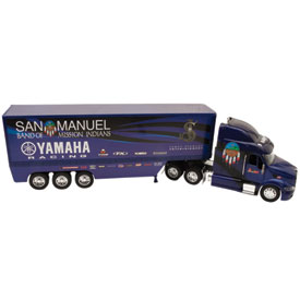 New Ray Die-Cast San Manuel L&M JSE Yamaha James Stewart Racing Rig Replica