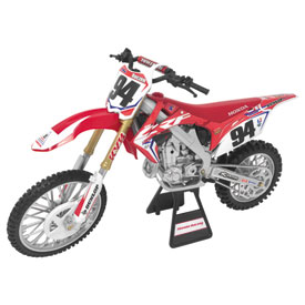 New Ray Die-Cast Team Honda CRF450R HRC Ken Roczen Motorcycle Replica 1:12 Scale