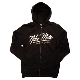 Nike MX Script Zip-Up Hooded Sweatshirt