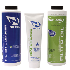 No Toil Evolution Air Filter Maintenance Kit With Grease
