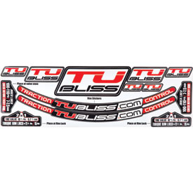 Nuetech Tubliss Gen 2.0 (Tubeless) Tire System Rim Sticker Kit