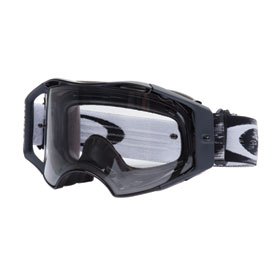 Oakley Airbrake Goggle  Jet Black Speed Frame/Clear Lens