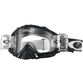 Oakley Mayhem Pro Goggle  Race-Ready Jet Black Speed Frame/Clear Lens