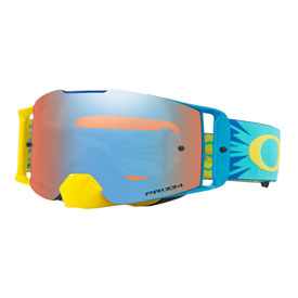 Oakley Front Line Goggle 2019  High Voltage Blue Yellow Frame/Prizm Sapphire Iridium Lens
