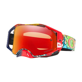 Oakley Airbrake Goggle  Jeffrey Herlings Graffito RWB Frame/Prizm Torch Iridium Lens