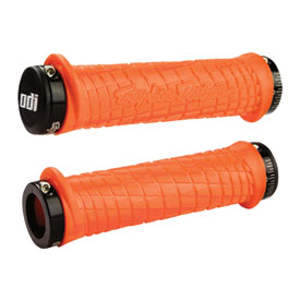 Odi Troy Lee Designs Signature Series ATV Lock-On Grips Orange