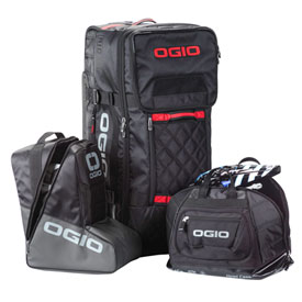 Ogio Wheeled Rig T3 Gear Bag  Black/Red