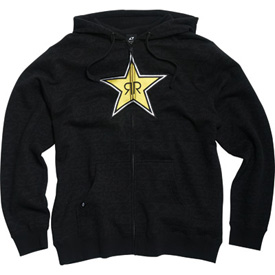 One Industries Rockstar Writing On The Wall Zip-Up Hooded Sweatshirt
