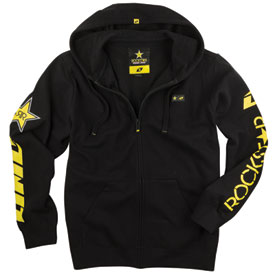One Industries Rockstar Shattered Zip-Up Hooded Sweatshirt