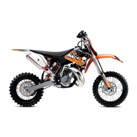 One Industries Orange Brigade Graphic Kit 2013