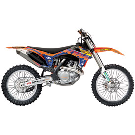 One Industries FMF/Orange Brigade Graphic Kit 2013