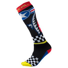 O'Neal Racing Pro MX Print Socks Size 10-13 Wingman