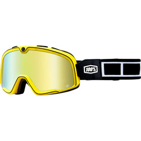 100% Barstow Goggle  Burnworth Frame/Gold Mirror Lens