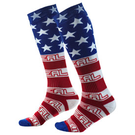 O'Neal Racing Pro MX Print Socks Size 10-13 USA